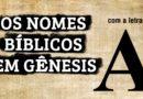 Nomes Bíblicos em Genesis